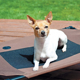 "K&H Pet Products Pet Cot Medium Chocolate 25"" x 32"" x 7"" Dog Beds - London the Local"