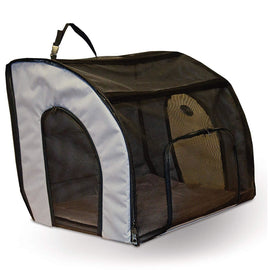 "K&H Pet Products Pet Travel Safety Carrier Large Gray 29.5"" x 22"" x 25.5"" Dog Travel - London the Local"
