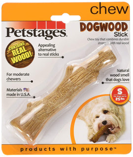 "Petstages Dogwood Stick Dog Toy Small Brown 5"" x 1"" x 1 Dog Toys - London the Local"