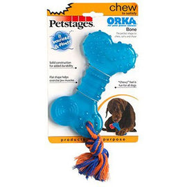 Petstages ORKA Bone Blue Dog Toys - London the Local