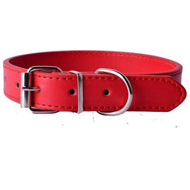 Beautiful Leather Hybrid Dog Collar Leather Collar - London the Local