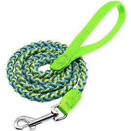 Braided Rope Reflective Dog Leash Dog Leash - London the Local