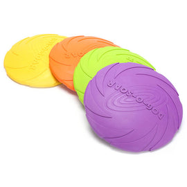 Flexible Puppy Plastic Training Flying Discs