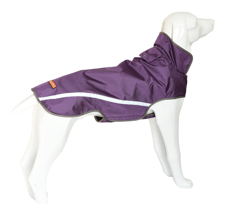 Outdoor Reflective Dog Coat, Breathable, Waterproof Dog Jacket - London the Local