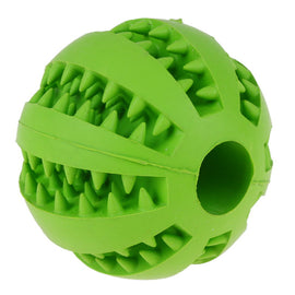 Pet Dog Toy Extra-tough Rubber Ball Toy Funny Interactive Elasticity Ball Dog Chew Toys For Dog Tooth Cleaning Ball Of Food