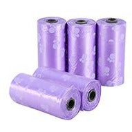 Colorful Dog Waste Poop Bags - 10 Rolls Dog Waste Bags - London the Local