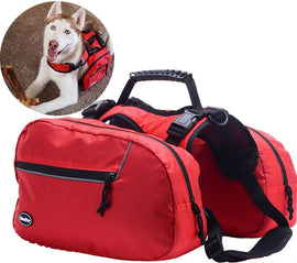 Adventurous Hiking Backpack Dog Clothes - London the Local