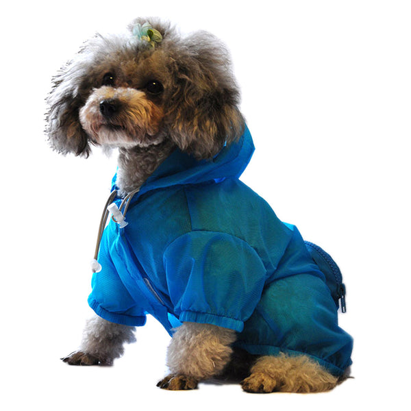 Adorable Waterproof Dog Raincoat