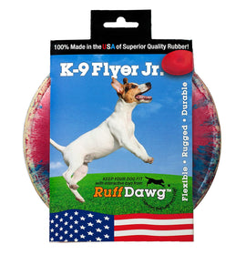 "Ruff Dawg K9 Flyer Jr Dog Toy Assorted Colors 5.5"" x 5.5"" x 0.2"" Dog Toys - London the Local"
