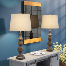 "2-Tone 29"" Table Lamp Set (Set of 2)"