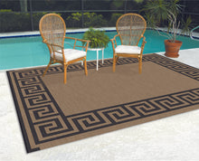 Reversible Indoor/Outdoor Rug/Mat With Carry Strap - 9 x 12 Size