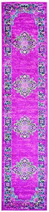 Passion Bohemian Fuchsia Soft Area Rug