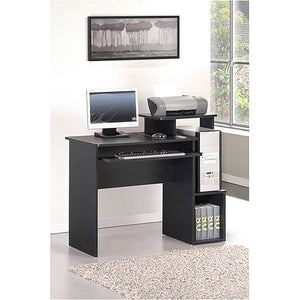 Multipurpose Home/Office Computer Writing Desk with Bin