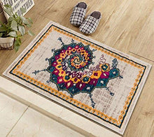 Transitional Eclectic Multi Color Area Rug