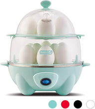 Electric Rapid 12 Eggs Cooker W/ Auto Shut Off
