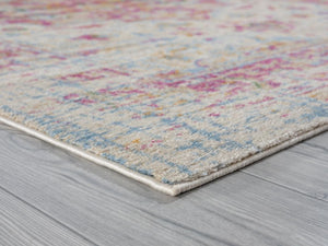 Persian Distressed Pink Area Rugs
