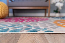 Floral Multi-color Area Rugs