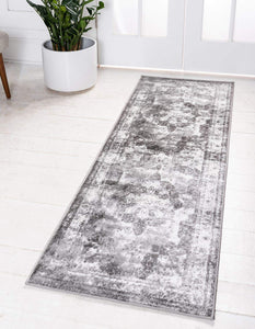 Vintage Grey Ivory Beige Soft Area Rugs