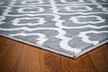 Persian Gray/Grey White Area Rugs