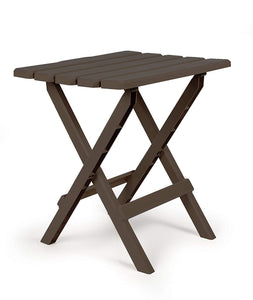 Portable Indoor Outdoor Folding Side Table - Weatherproof and Rust Resistant
