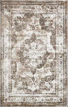 Vintage Distressed Light Brown Area Rugs