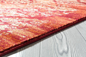 Persian Distressed Burgundy Area Rugs