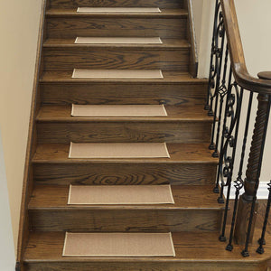 Stair Treads Dark Beige Carpet Area Rug Non-Slip