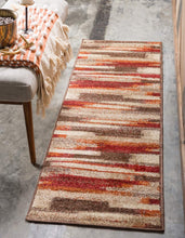 Warm Toned Beige Brown Multi-color Area Rugs