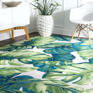 Lisa Floral Indoor/Outdoor Area Rug, Multi