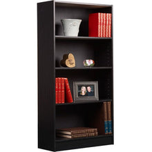 Wooden Bookcase 4-Shelf