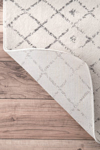 Premium Transitional Vintage Ivory Gray Area Rugs