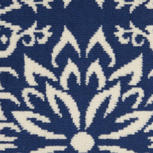 Navy Ivory Transitional Area Rug