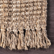 Chunky Loop Natural Jute Rug - Multiple sizes available