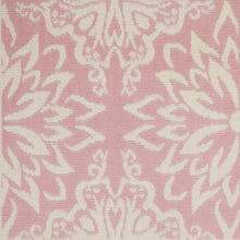 Transitional Floral Ivory/Pink Area Rug