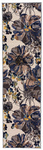 Floral Cream Multicolor Area Rug Non-Slip Non Skid