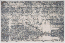 Distressed Ivory Gray Soft Area Rug