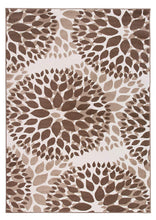 Floral Brown Area Rugs