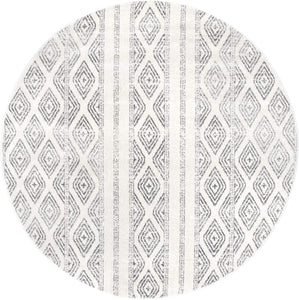 nuLOOM Sarina Diamonds Area Rug, 4' x 6', Grey