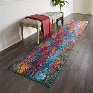 Celestial Modern/Contemporary Atlantic Soft Area Rug