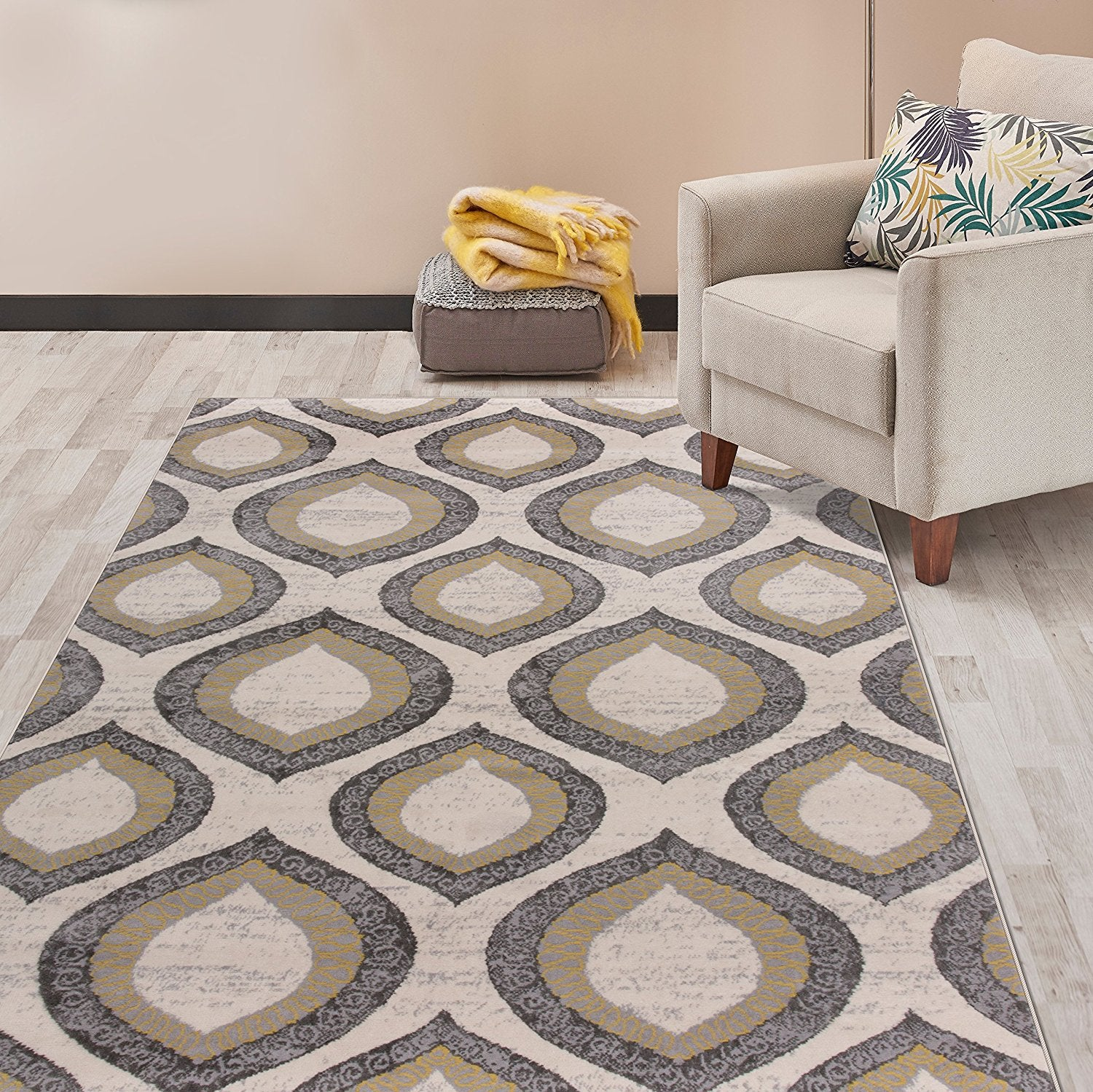 trellis kivalna rug plush rugs products beauty blue of cap beige modern sky patterned
