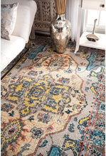 Corbett Vintage Boho Grey Soft Area Rugs - Multiple Sizes Available