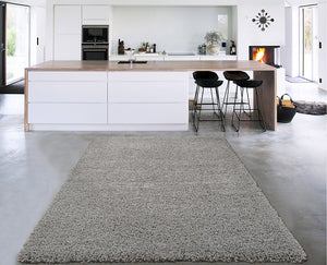 Plain Shag Area Rugs - Multiple Colors and Sizes