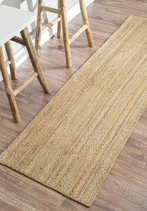 Handmade Braided Natural Jute Soft Area Rugs