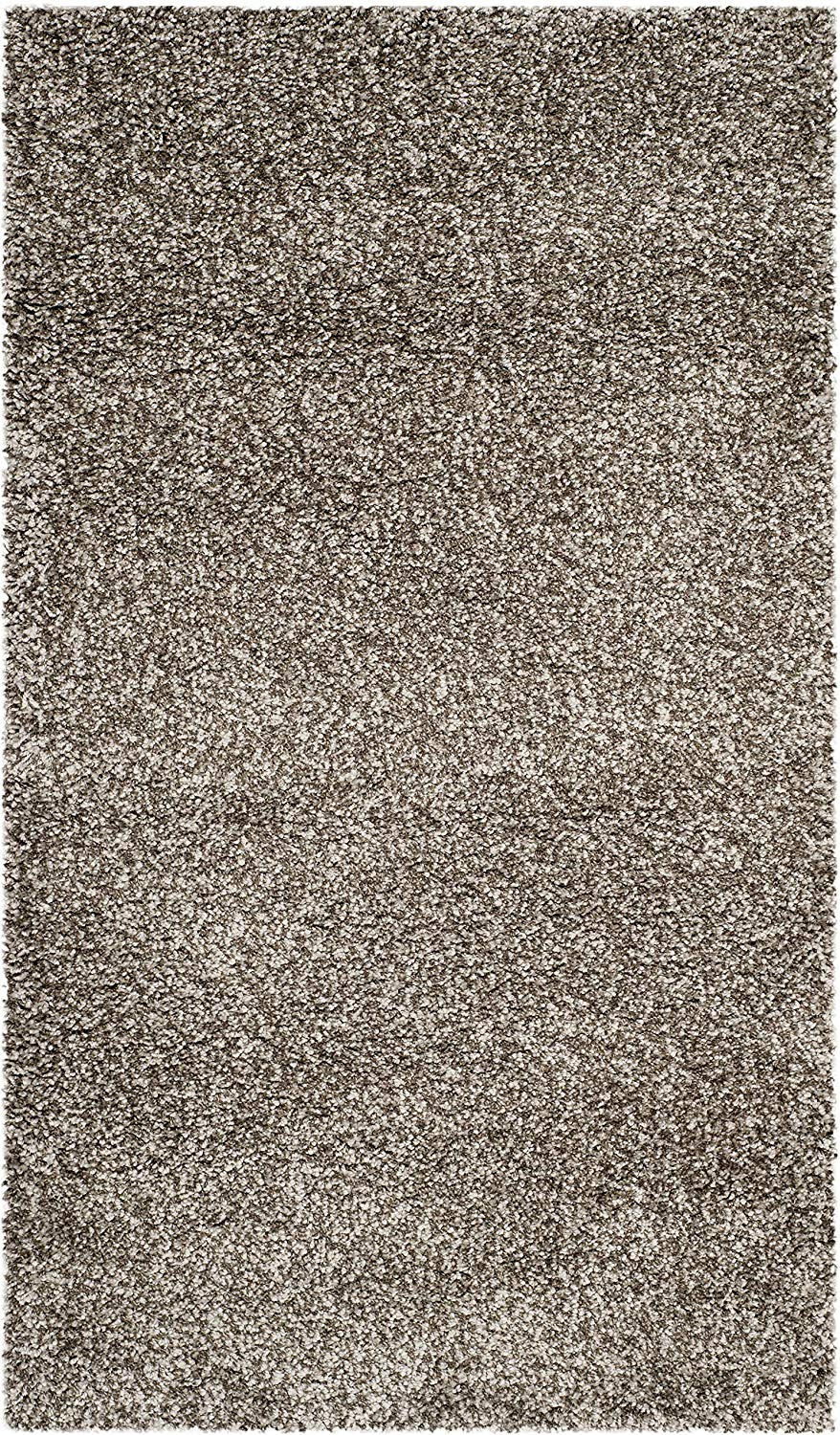 Gray Soft Plush Shag Area Rug