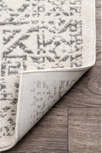 Grey Ivory Bohemian Pattern Soft Area Rugs