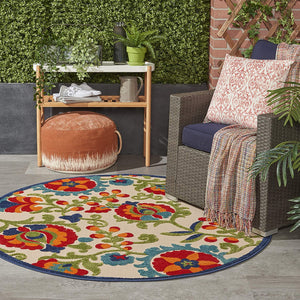 Multicolor Indoor/Outdoor Area Rug