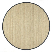 Premium Sea grass Natural Black Area Rug