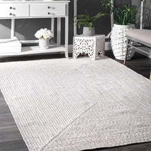 Braided Handmade Ivory Indoor/Outdoor Soft Area Rug