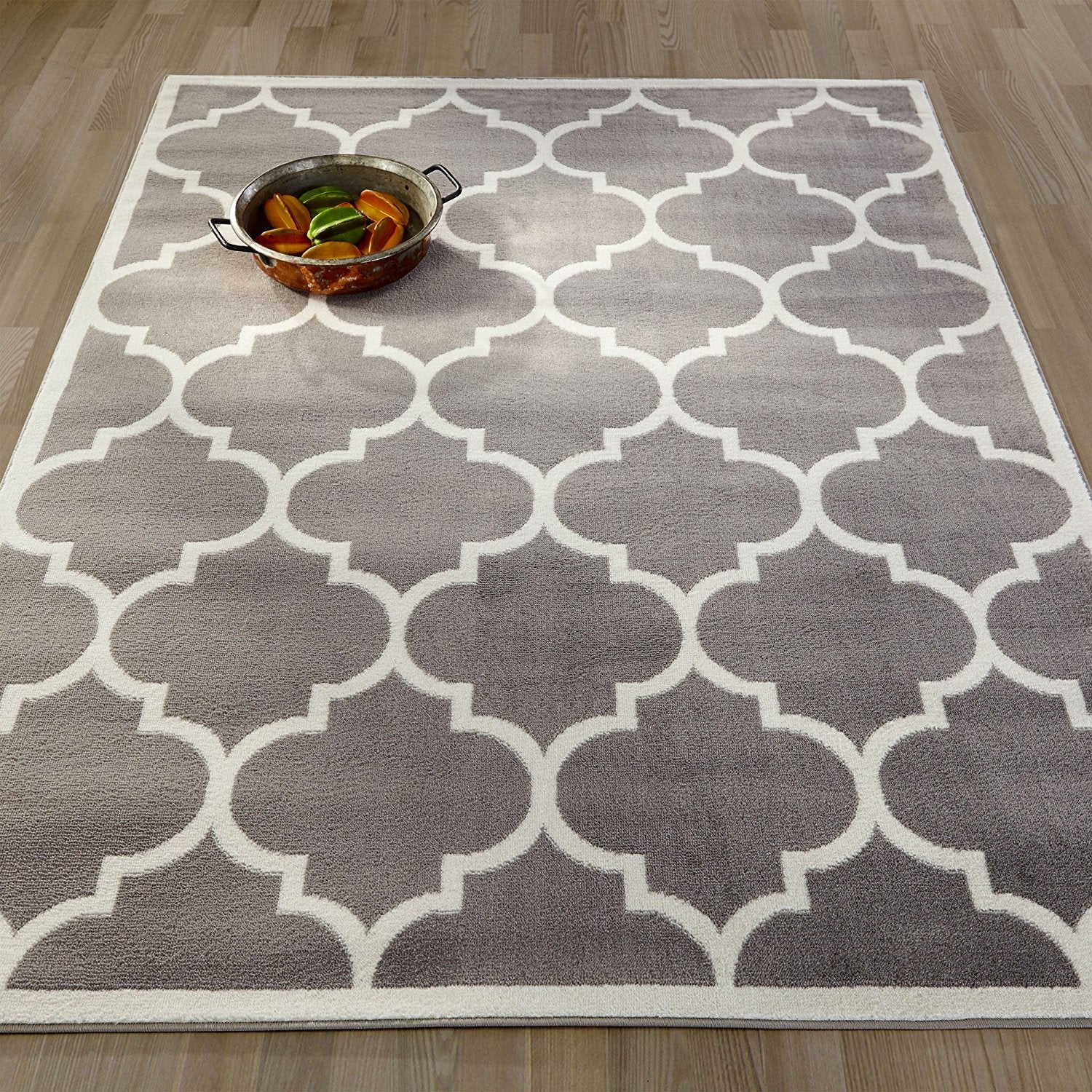 rug wool hand graywhite area pdx gray mats inc felt tufted white rugs wayfair and
