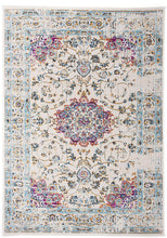 Traditional Persian Pattern Soft Ivory Pink Area Rug